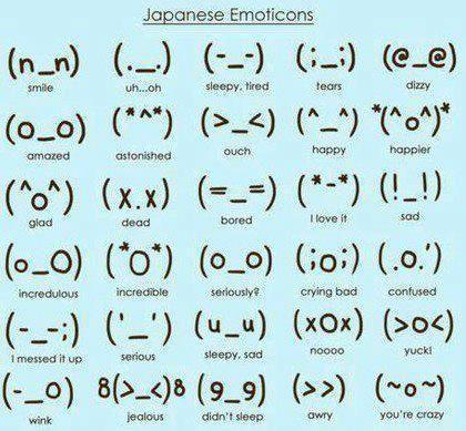 japanemoticon