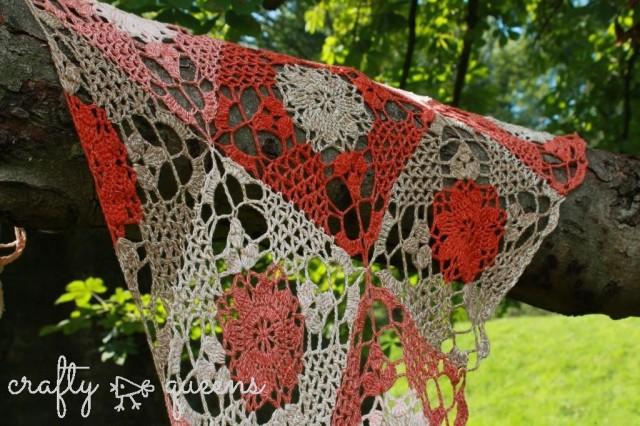 Rustic Lace Shawl by Carmen Jorissen