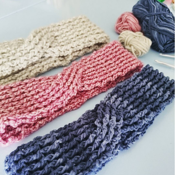 Free Crochet Ribbed Headband Patterns : 365 Crochet