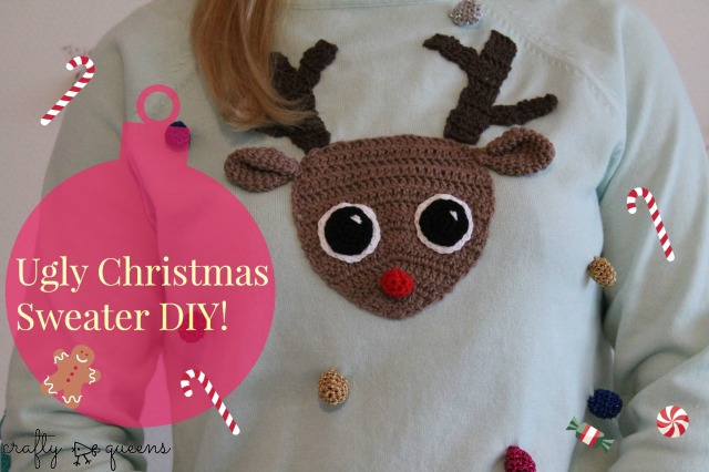 Ugly Christmas Sweater DIY Craftyqueens