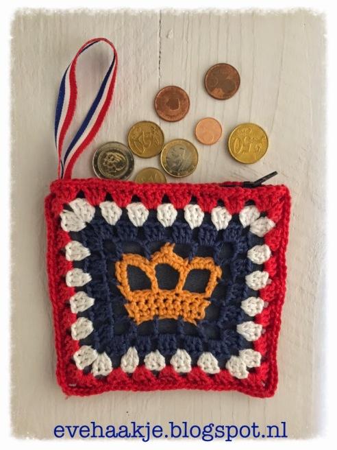 Koningsdag portemonee